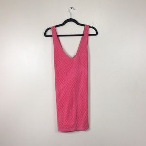 Victoria Secret Terry Cloth Pink Scale Cover Up